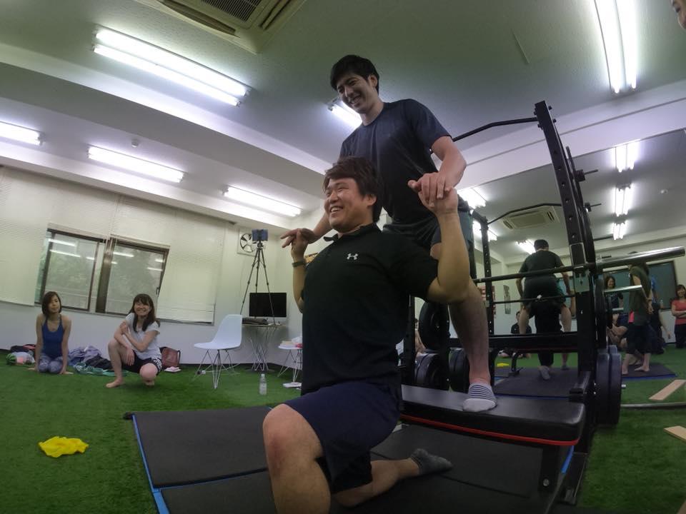 ショルダープレス 五木田塾
